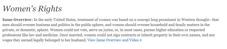 Issues&Contro-Women