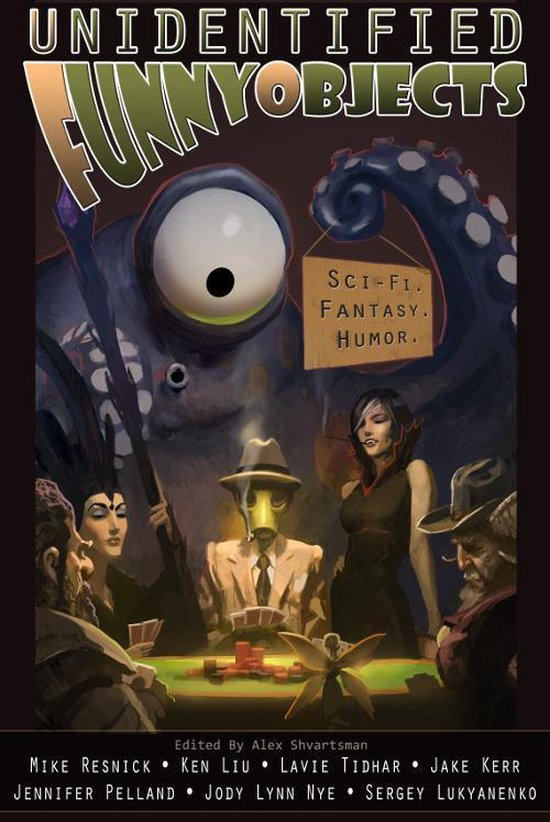 Unidentified Funny Objects Cover