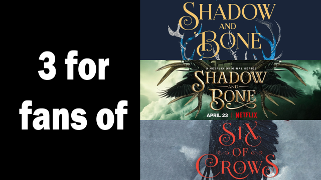 Shadow and Bone and Six of Crows covers